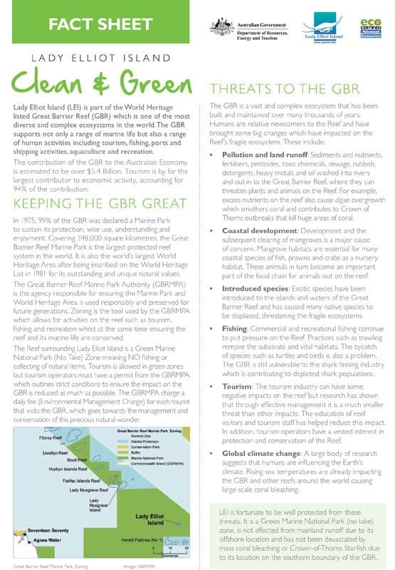 Clean & Green Fact Sheet